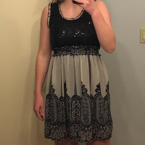 Fancy and Simple Dress
